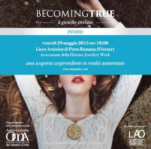 13 Becomingtrue. OmA presenta il progetto vincitore del II blog contest