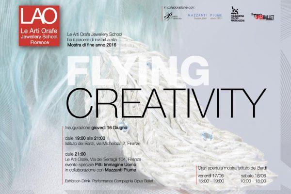 Flying Creativity. Gli studenti della LAO in mostra