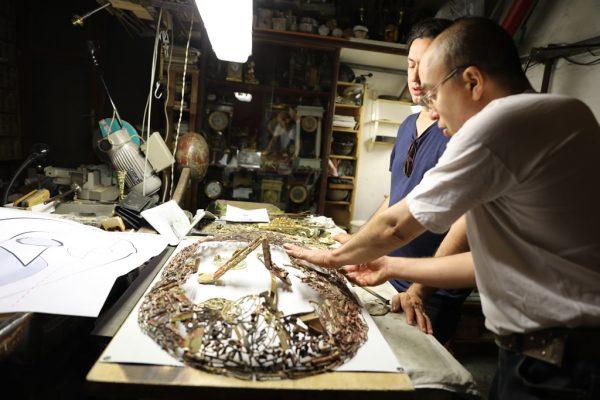 NEPHILIM – Un progetto inedito dell'artista Yuval Avital insieme a 24 artigiani toscani
