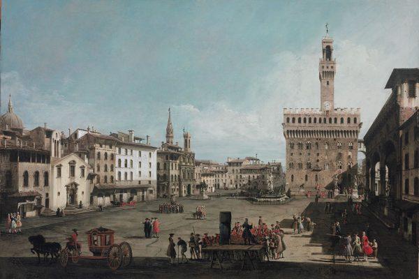 Bernardo Bellotto in Toscana