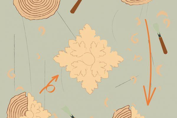 Trasformazione, l'artigiano creatore nella grafica di Agnese Giorgetti