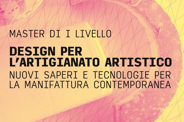 A Firenze un Master in Design per l'Artigianato