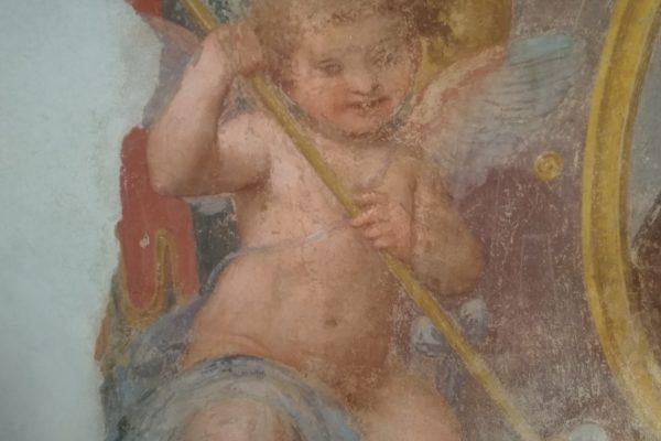 Corso Restauro pitture murali dei santi beati vallombrosiani