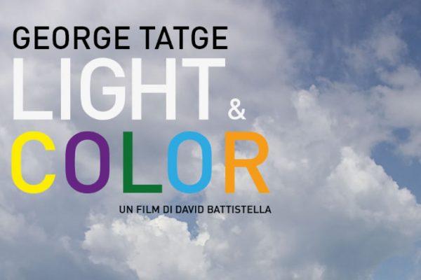 Un mare di colori di George Tatge in mostra a Livorno
