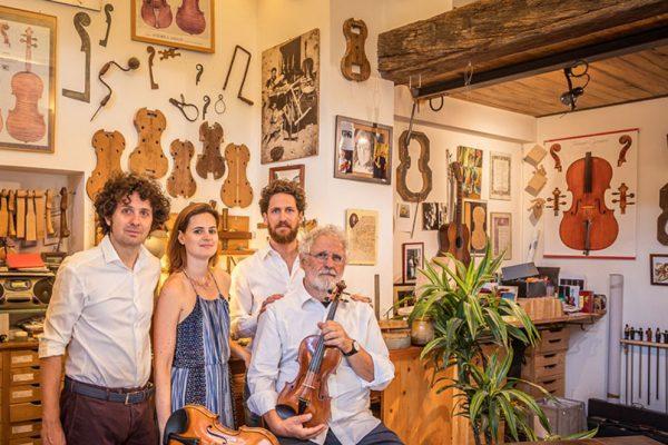 La Bottega di Liuteria Paolo Vettori & Sons e la violoncellista Naomi Berrill