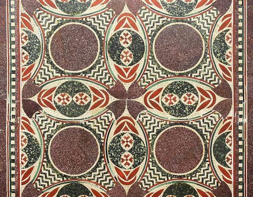 La lunga avventura di un mosaico: da un nave romana, a un caffè di New York, al museo delle Navi romane di Nemi
