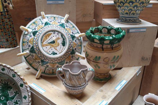 Fino al 6 Giugno l'universo della ceramica in una mostra al Giardino Corsini