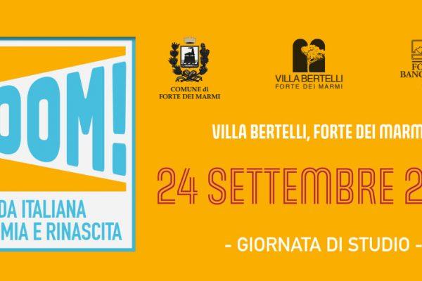 BOOM. La moda italiana, economia e rinascita